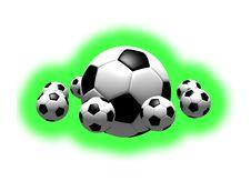 Free Soccer Balls Stock Photo - 5250910
