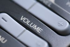 Free Volume Button Stock Images - 5251014