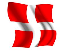 Free Switzerland Waving Flag Stock Image - 5251031