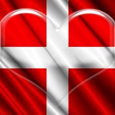 Free Switzerland Crystal Heart Stock Images - 5251154