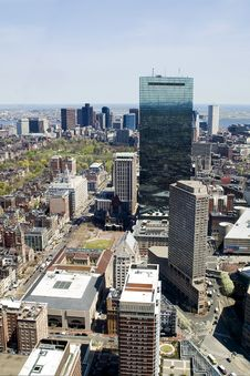 Free Downtown Boston Royalty Free Stock Photography - 5251267