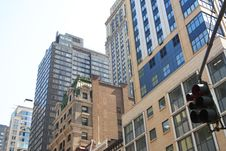 Free Manhattan Skyline Royalty Free Stock Images - 5251509