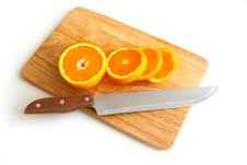 Free Oranges On The Board 2 Stock Photos - 5251603