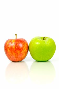 Free Red & Green Apples Stock Photography - 5251872