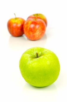 Free Red & Green Apples Royalty Free Stock Photos - 5251948