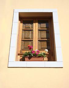 Free FLOWERINWINDOW1 Royalty Free Stock Images - 5252589