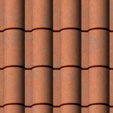 Free Imbrex Texture Royalty Free Stock Photos - 5252598