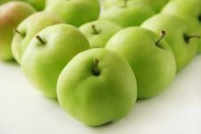 Free Green Apples. Stock Images - 5253054