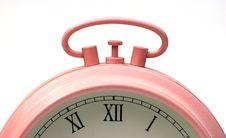 Free Alarm Clock Detail Royalty Free Stock Photo - 5253155