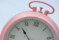 Free Alarm Clock Detail Royalty Free Stock Photos - 5253168