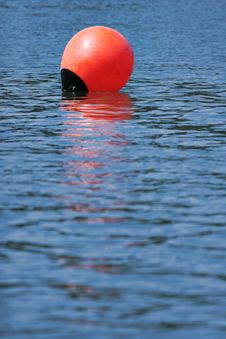 Free Buoy. Royalty Free Stock Photography - 5253627