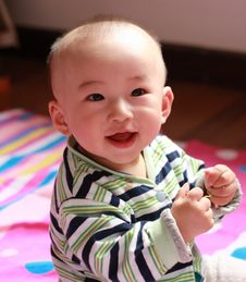 Free Smile Baby Royalty Free Stock Photography - 5253897