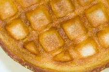 Free Waffles Royalty Free Stock Photos - 5254128