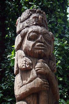 Free Totem Pole Stock Image - 5254591