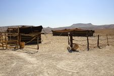Free Bedouin Village Stock Photography - 5254772