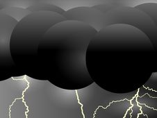 Free Stormy Spheres Royalty Free Stock Image - 5255106