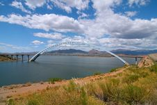 Free Bridge Rosvelt Stock Photo - 5255310