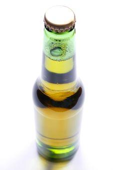 Free Bottle Of Beer Closeup Stock Image - 5255781
