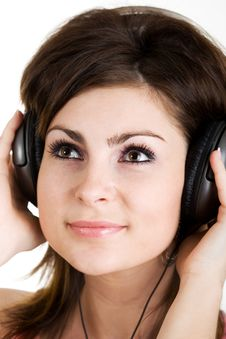 Free Sound-girl Stock Photography - 5255952