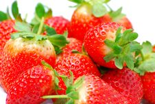 Free Strawberries Royalty Free Stock Image - 5256566