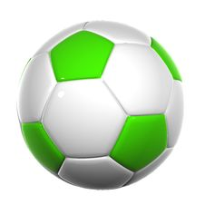 Free Soccer Ball 014 Royalty Free Stock Images - 5256599