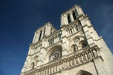 Free The Notre Dame Cathedral In Paris Stock Photos - 5256763