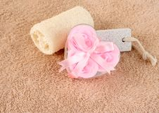 Free Soap Flowers Stock Image - 5256871