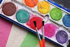 Free Paint Set Stock Images - 5257194