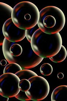 Free Bubbles Royalty Free Stock Photography - 5257477