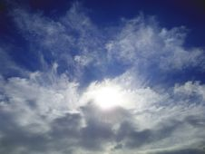 Free Light In Clouds Stock Image - 5257511