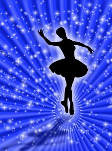 Dance In The Stars Royalty Free Stock Photos