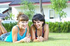 Free Summer Friends Stock Photography - 5257852