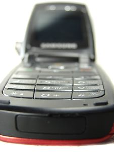 Free Style Mobile Phone Buttons Closeup Stock Photos - 5257863