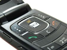 Style Mobile Phone Closeup Royalty Free Stock Photography