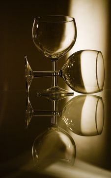 Free Wine Glasses Stock Photography - 5257982
