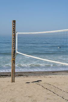 Free Volleyball Court Stock Image - 5257991