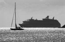 Free Cruising In Caribbean Royalty Free Stock Image - 5258136