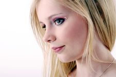 Free Blond Girl S Portrait Royalty Free Stock Photos - 5258148