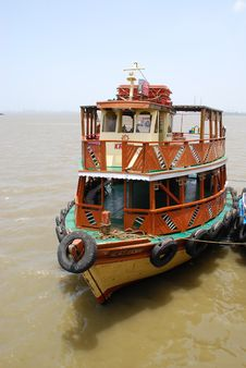 Mumbai Boat Stock Photography