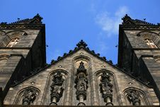Free Vysehrad Cathedral Stock Photography - 5259072
