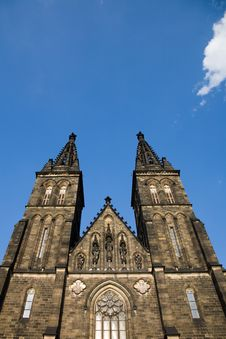 Free Vysehrad Cathedral Royalty Free Stock Photos - 5259098