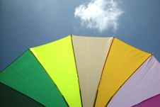 Free Umbrella And Sky Royalty Free Stock Images - 5259389