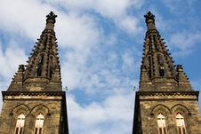 Free Vysehrad Cathedral Stock Photo - 5259520