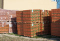 Free Stacks Of Bricks For The Construction Stock Photography - 52520972