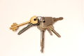 Free A Bunch Of Metal House Keys Stock Photo - 52583290