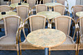 Free Empty Wicker Chairs Stock Photography - 5261002