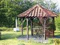 Free Beautiful Home Garden Gazebo Stock Images - 5266164
