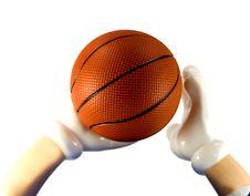 Free Basketball Royalty Free Stock Image - 5260336