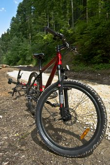 Free Mountain Bike 2 Royalty Free Stock Images - 5260399