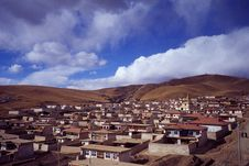 Free Tibetan Houses Stock Photography - 5260402